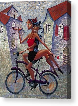 Town Canvas Prints