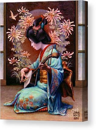 Kimono Canvas Prints