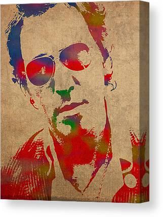 Bruce Springsteen Canvas Prints