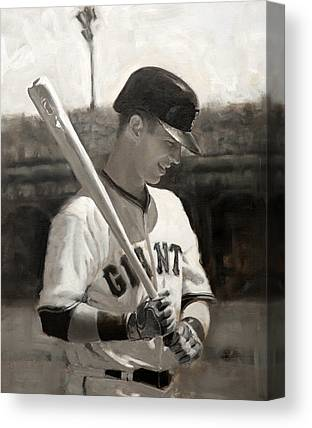 Buster Posey Canvas Prints
