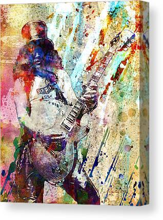 Rock Guns N Roses Music Canvas Prints