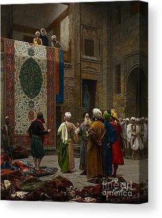 Gerome Cafe House Cairo Dancing Painting Canvas Art Print Poster