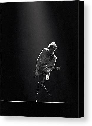 Rock And Roll Bruce Springsteen Canvas Prints