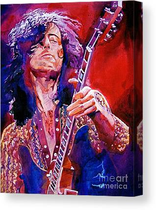 Music Rock Led Zeppelin Canvas Prints