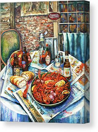 Dine Canvas Prints
