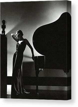 1930s Fashion Canvas Prints