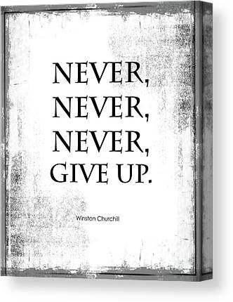 Inspirational Quotation Canvas Prints