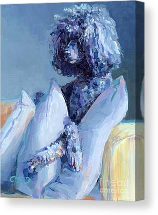Poodle Canvas Prints Fine Art America