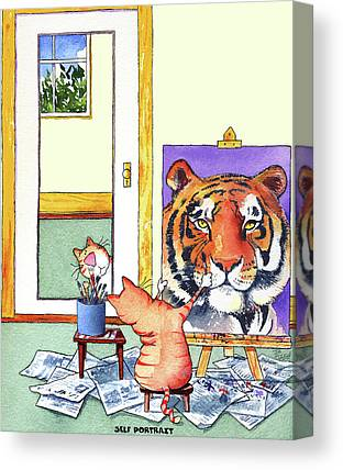 Big Cats Canvas Prints