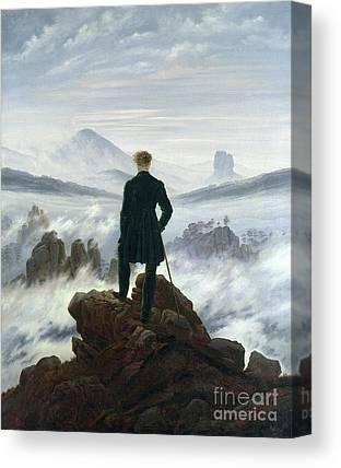 Mountain Man Canvas Prints