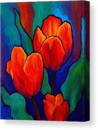 Floral Canvas Prints