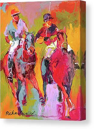 Polo Canvas Prints