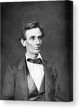 Lincoln Canvas Prints