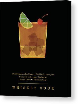 Whiskey Sour Canvas Prints