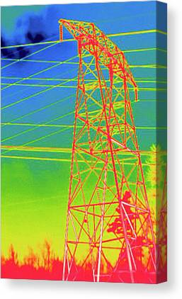 Thermograph Canvas Prints