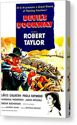 Films By Anthony Mann Canvas Prints