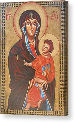 Mary Help Of The Romans Paintings Canvas Prints