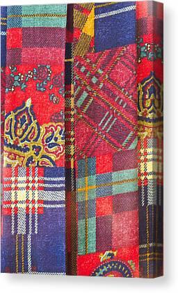 Tartan Quilts Canvas Prints