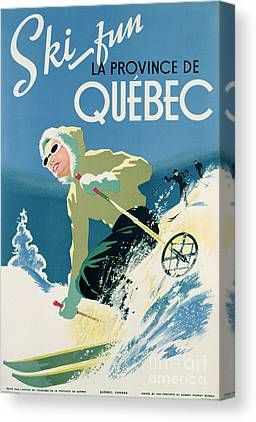 Quebec Canvas Prints