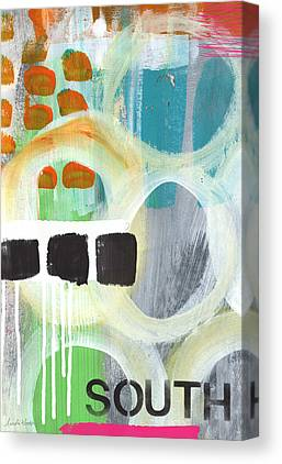 Abstract Expressionism Mixed Media Canvas Prints