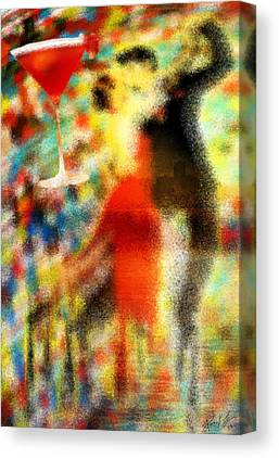Tango As The Sunset Canvas Prints