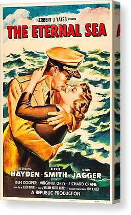 1955 Movies Photographs Canvas Prints