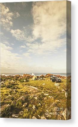 Campsite Canvas Prints