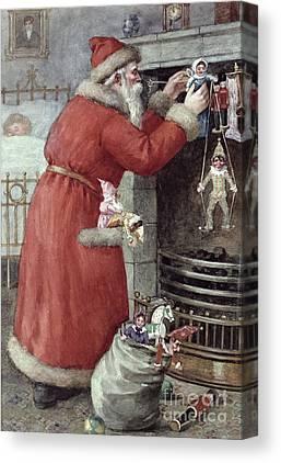 St. Nicholas Canvas Prints