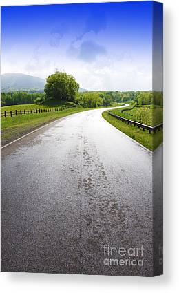 Highland Scenic Highway Canvas Prints