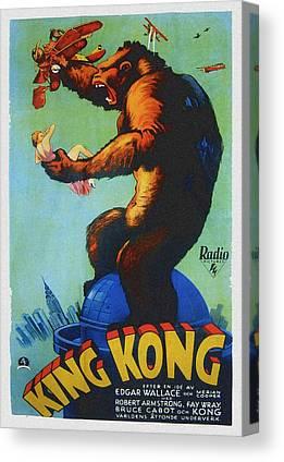1933 Movies Canvas Prints