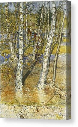 Spring Floods Canvas Prints