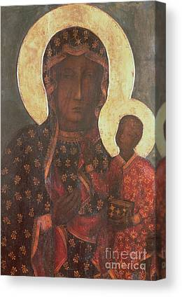 Icon Byzantine Canvas Prints