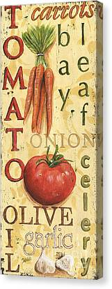 Vegetable Paintings Canvas Prints