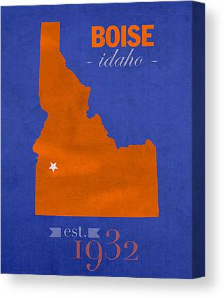 Boise State University Canvas Prints