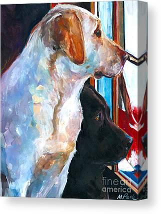 Labrador Retriever Canvas Prints