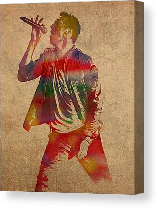Coldplay Canvas Prints