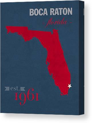 Florida Atlantic University Fau Canvas Prints
