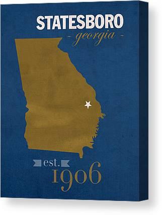 Georgia Southern University Canvas Prints