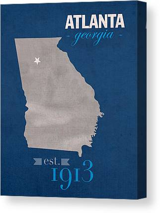 Georgia State University Canvas Prints