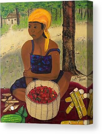 Fermentation Paintings Canvas Prints