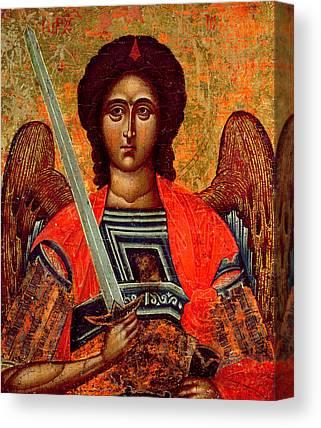 Greek Icon Paintings Canvas Prints