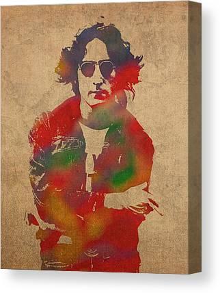 John Lennon Canvas Prints