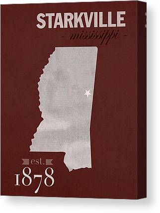 Mississippi State University Canvas Prints