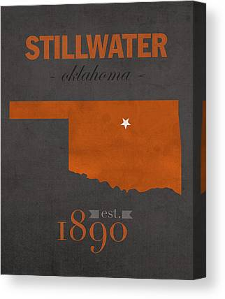 Oklahoma State University Canvas Prints