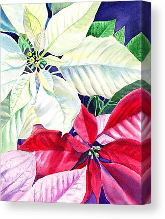 Decorated For Christmas Canvas Prints