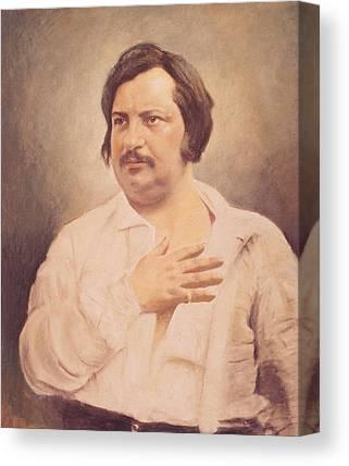 Balzac Canvas Prints