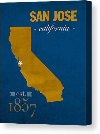 San Jose State University Canvas Prints