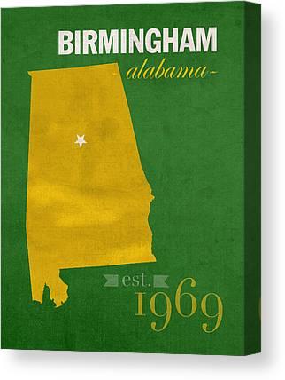 University Of Alabama At Birmingham Canvas Prints