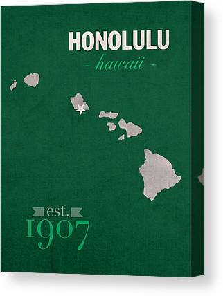 University Of Hawaii Canvas Prints