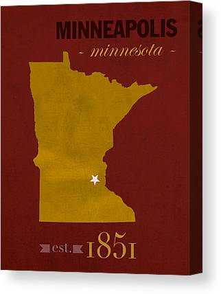 University Of Minnesota Canvas Prints